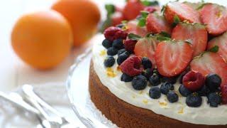 SINAASAPPEL YOGHURT CAKE