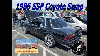 Coyote Swapped 1986 SSP Mustang - Former CHP car @FabulousFordsForever