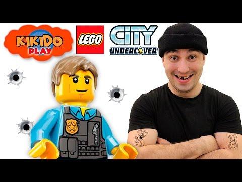 👮 LEGO UNDERCOVER #3 ПОГОНЯ по КРЫШАМ Кикидо плей игра в ЛЕГО  GTA