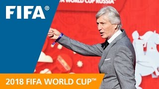 Jose Pekerman (Colombia) REACTION: World Cup Preliminary Draw