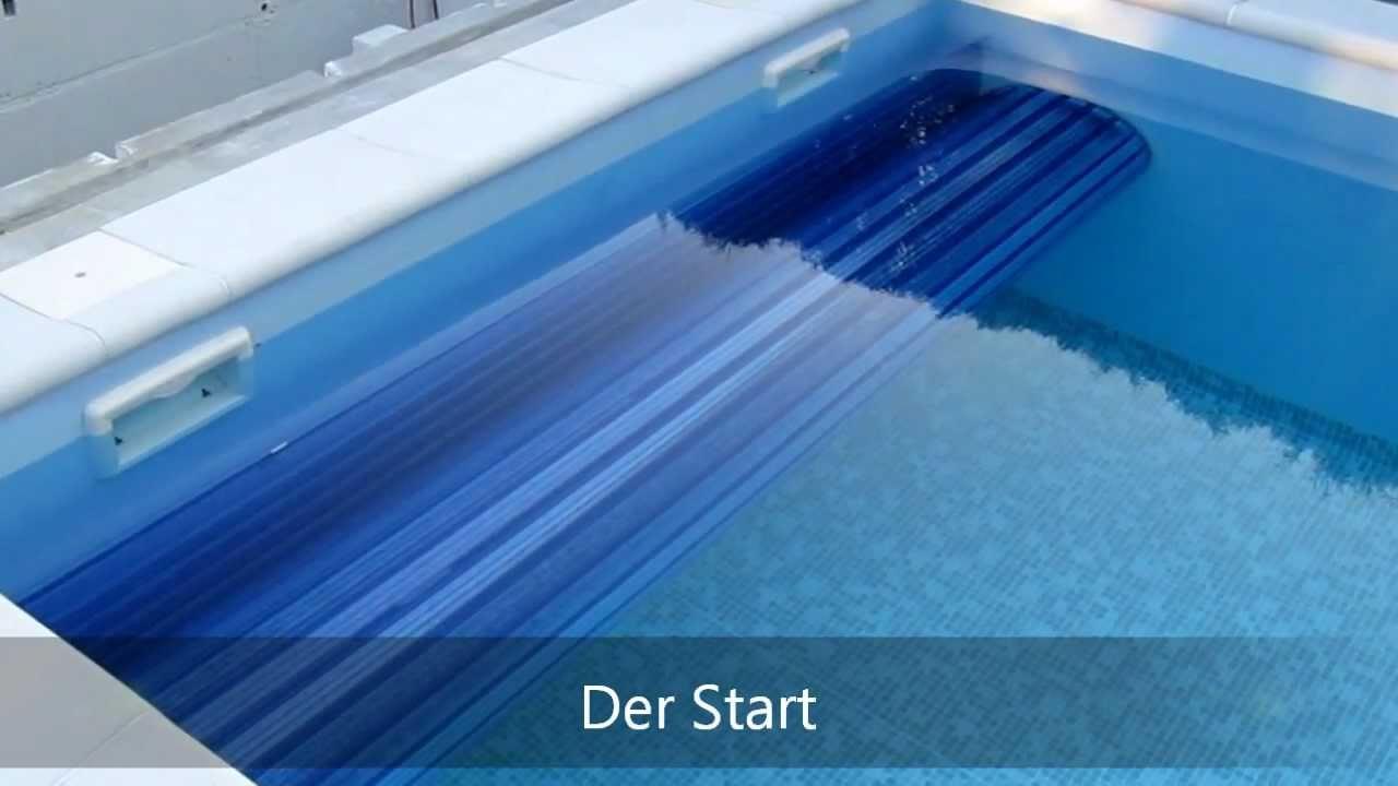 Schwimmbadabdeckung unterflur unterwasser rohrmotor - Poolabdeckung unterflur ...