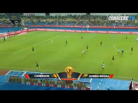 Coppa d'Africa, il calcio d'inizio della Guinea Bissau è il più assurdo di sempre!!!
