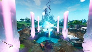 FINAL EVENT IN FORTNITE! VOLCAN EXPLOSION AND BALSA BOTIN THE FINAL