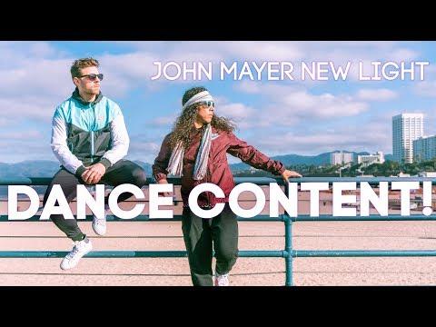 John Mayer - New Light (Dance Content!)
