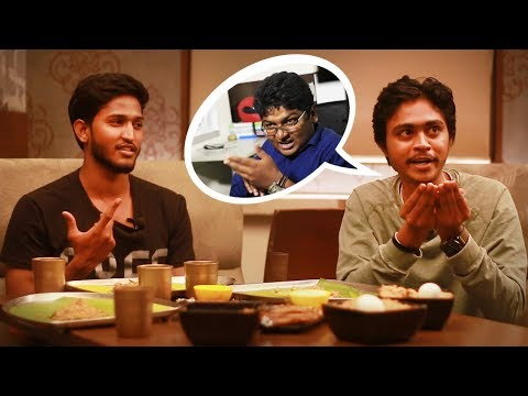 Jump Cuts Hari Baskar imitates Madras Central Paridhabangal,Hari Baskar & Naresh Dillibabu Interview
