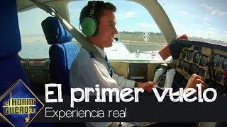 ¿Qué siente un piloto de avión al volar por primera vez solo? - El Hormiguero 3.0