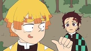 귀멸의 칼날 - 오늘도 고통받는 젠이츠 애니메이션