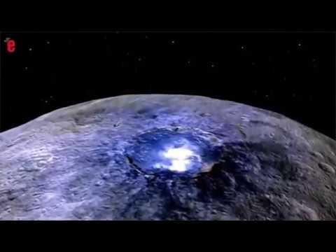 Espace: de la glace découverte sur la planète Cérès