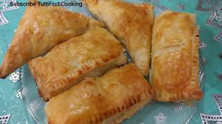 Chicken Patties Recipe No Oven  Chicken Puff Patties Recipe  Ramadan Recipe in UrduHindi