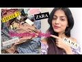 SHOPPING HAUL | ZARA | FOREVER 21 | PROMOD | COVER STORY | KAMA AYURVEDA | Nidhi Chaudhary