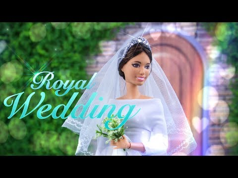 DIY - How to Make: CUSTOM Made to Move Royal Wedding Meghan Duchess of Sussex Doll