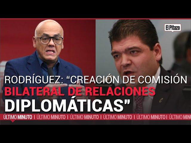 Rodriguez anunció la creación de una comisión bilateral de normalización de relaciones diplomáticas