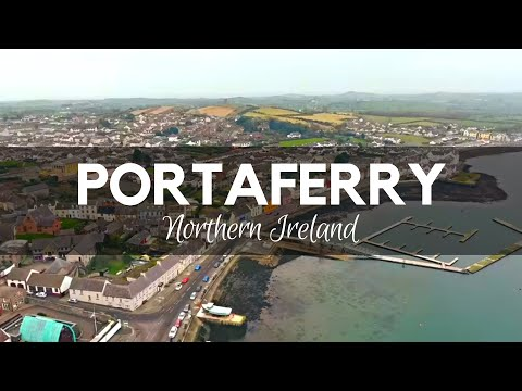 PORTAFERRY - County Down - Entrance of Strangford Lough on Ards Peninsula - Northern Ireland
