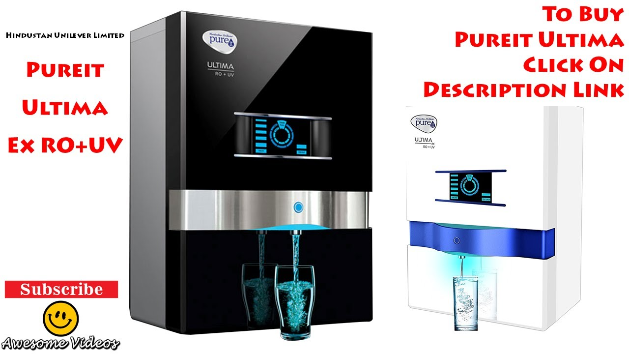 Pureit Ultima Ro Uv Unbox Installation Hul Pureit