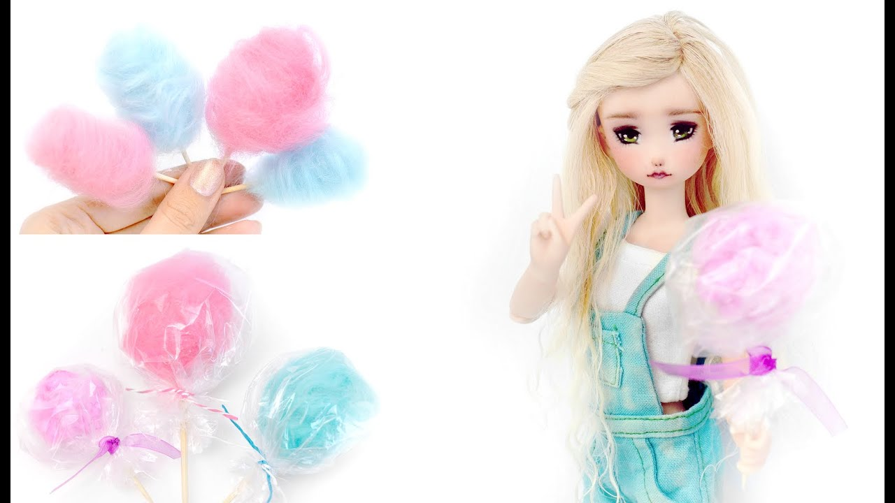 Miniature COTTON CANDY For Dolls