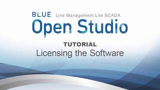 Video: BLUE Open Studio Tutorial #2: Licensing the Software