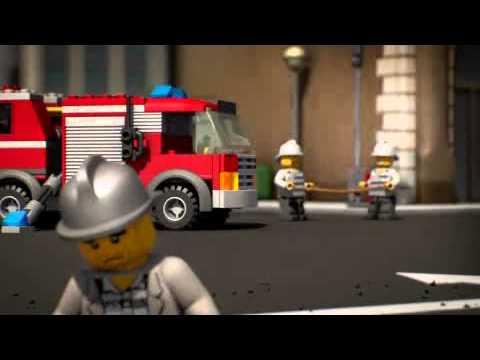 LEGO City - Der Film Feuerwehrjagd deutsch - YouTube