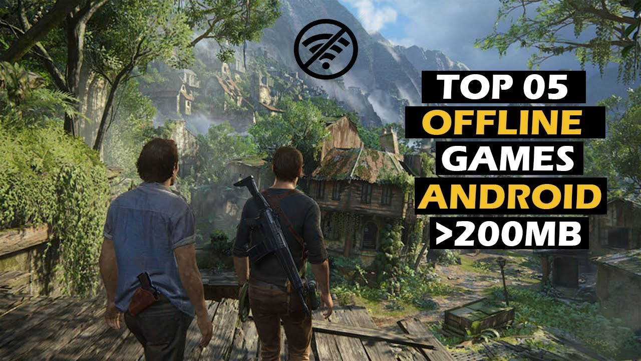 Top 5 Offline Games For Android Under 200mb Hd Graphics