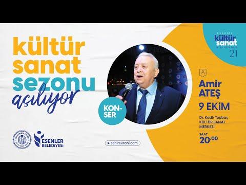 """Türk sanat müziği bestekârı """"Amir Ateş"""" Konseri - Canlı Yayın"""