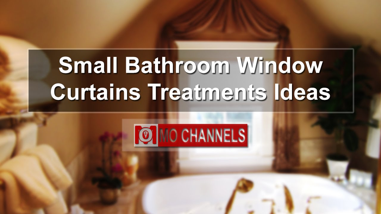Small Bathroom Window Curtains Treatments Ideas - YouTube