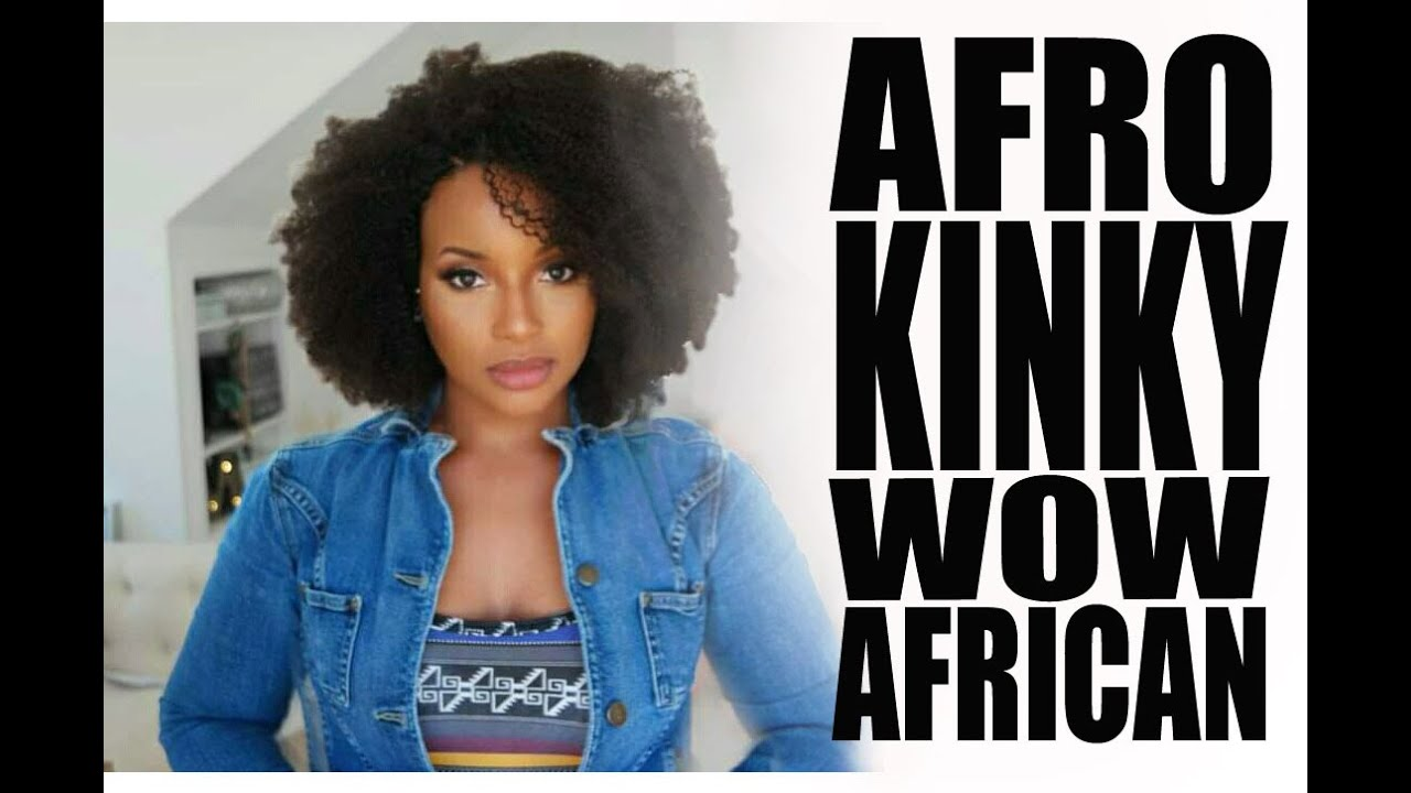 black afro hair styles slay with this afro curly lace wig ii wowafrican 3668