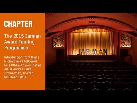 The 2015 Jarman Award Touring Programme
