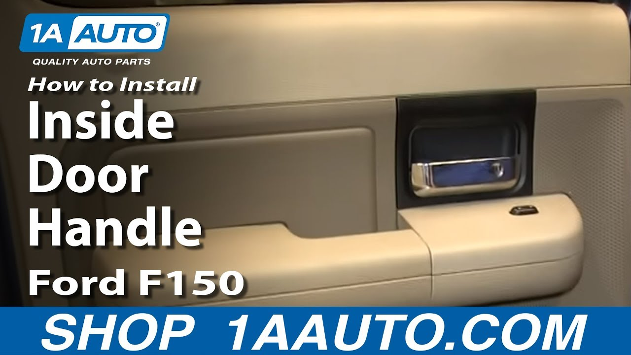 How to install replace rear inside door handle 2004 08 ford f150 how to install replace rear inside door handle 2004 08 ford f150 youtube planetlyrics Image collections