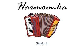 Hangszer ovi - Sétálunk (harmonika) / Hungarian children song (folk)
