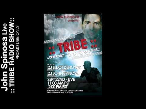 John Spinosa Live on ::TRIBE:: Radio Show September 22, 2012