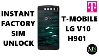 Sim Unlock T-mobile Lg V10 H901 - No Device Unlock App Needed!
