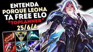 ESTRATÉGIA LEONA TOP - DO BRONZE AO GOLD APENAS DE LEONA - ENTENDA COMO E PORQUE?!