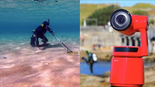 $2,000 Metal Detecting FIND!! NO ESCAPE This Camera Tracks People & Animals (Obsbot)
