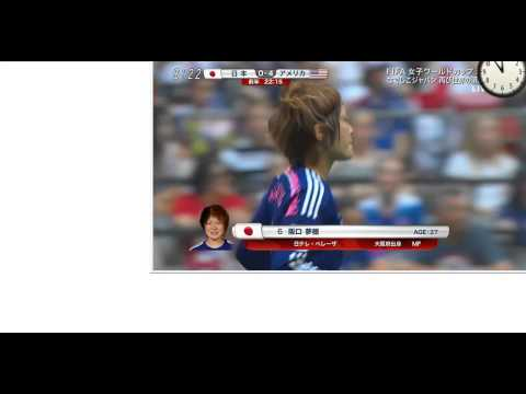 Japan v. USA 1st half Full - FIFA Women's World Cup 2015