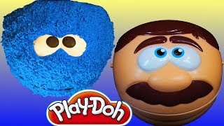 Play Doh Cookie Monster Doctor Drill N Fill Playset Do It Yourself Play Dough Dentist Drill And Fill