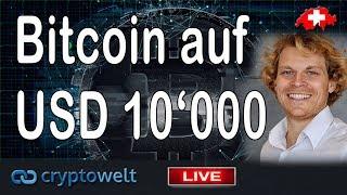 Julian Hosp sieht BTC auf 10'000 Ende 2018 / News Bitcoin - Blockchain und Co.