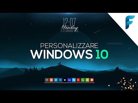 Personalizzare Windows 10 in modo PERFETTO! (Clean Setup 2018) - Ecco come ho fatto! [ITA]
