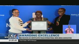 NMG receives 6 certificates from International News Media Association