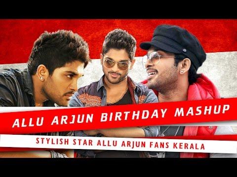 Allu Arjun Birthday Special Mashup   Vivek Viswan   ( Malayalam )