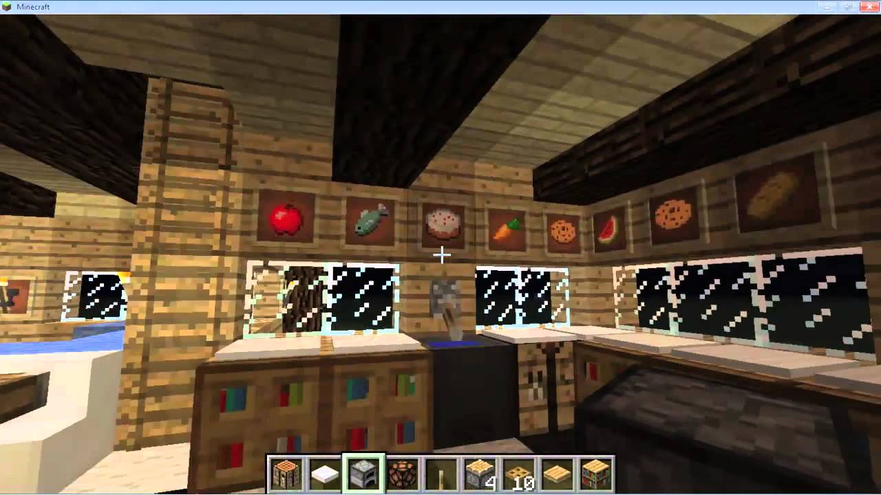 Minecraft Como Decorar Tu Casa Cabaa  YouTube