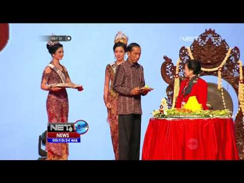 Pidato Megawati Dan Presiden Jokowi Di Rakernas PDIP 2016 - NET24