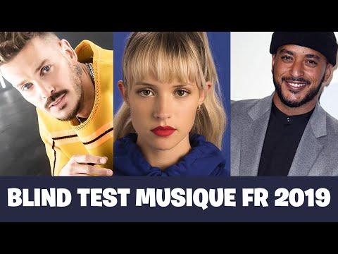 BLIND TEST MUSIQUE FR 2019