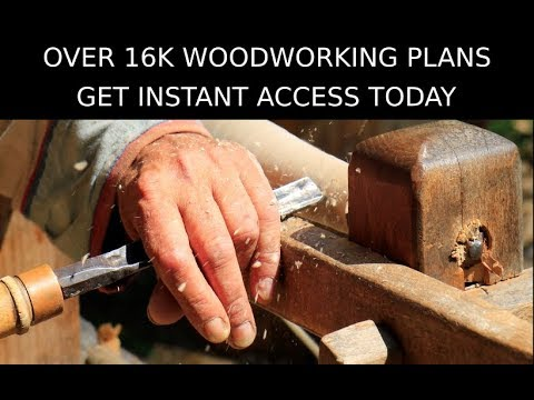 Over 16,000 Woodworking Plans