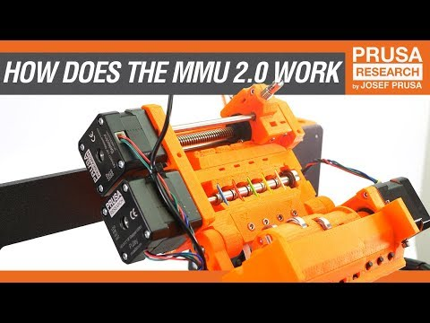 How does the Multi Material Upgrade 2.0 work?
