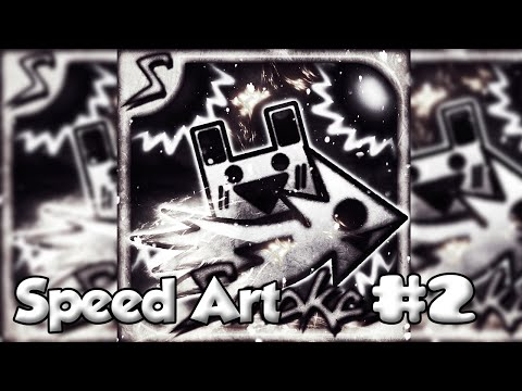 Speed Art - Geometry Dash Profile Picture - Smokes