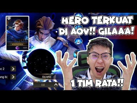 HERO BARU MACAM APA INI? 1X SKILL 1 TIM RATA! - AOV Indonesia