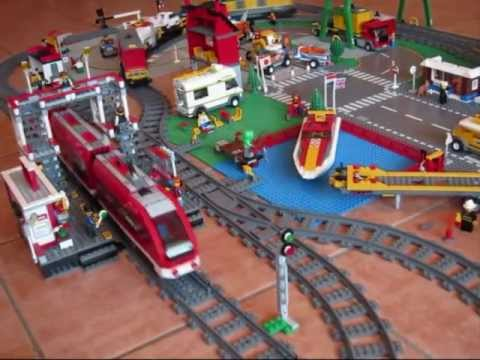 tims lego city eisenbahn teil 2 youtube. Black Bedroom Furniture Sets. Home Design Ideas