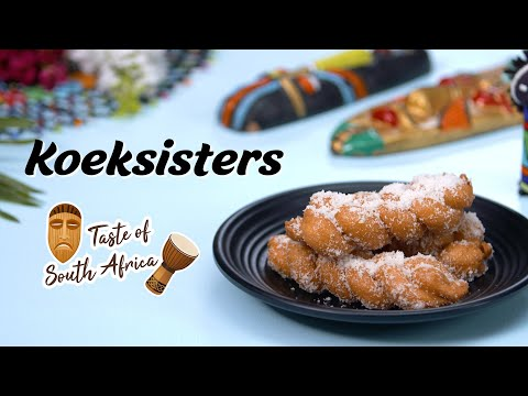 Koeksisters Recipe | South African Dessert Recipes | African Food Recipe By Megha Joshi