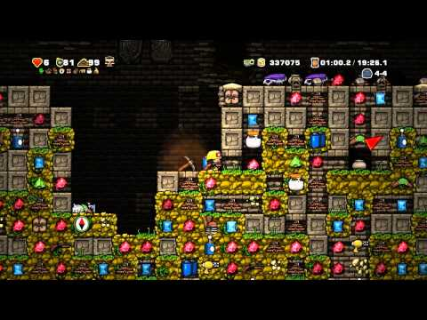 Let's Play Spelunky - Episode 26 - Insane Frozlunky