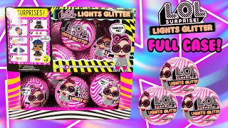 LOL Surprise Lights Glitter FULL BOX! Black Light Surprises Will We Complete The Collection???