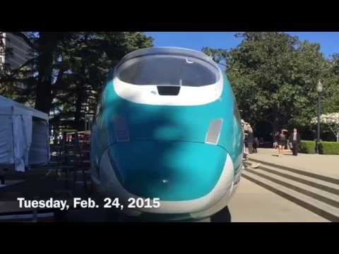 California's First Bullet Train?